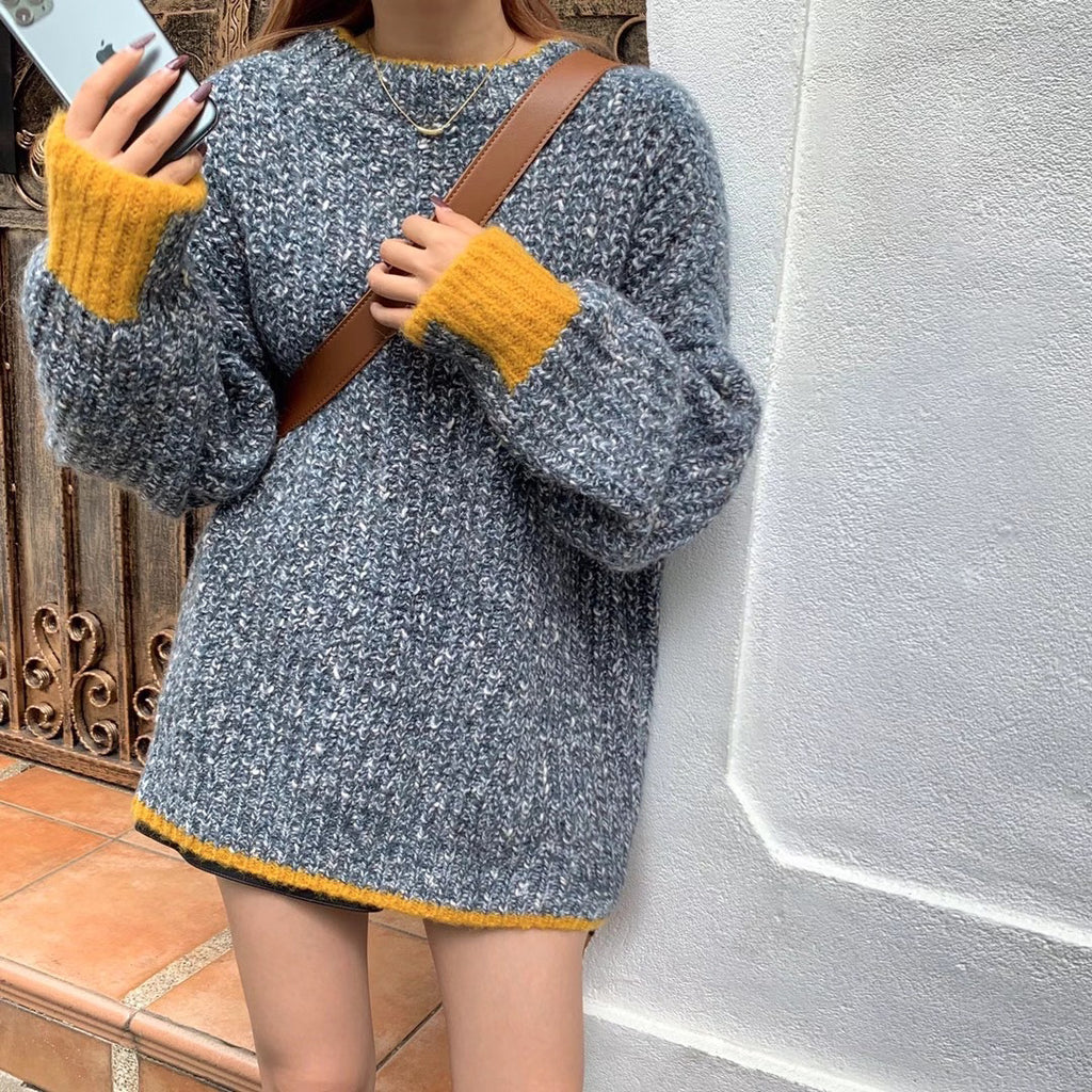 Color Thread Sweater  - Marvous Wear