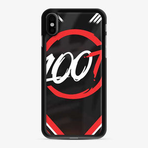 100 Thieves Line Of iPhone X/XS Case