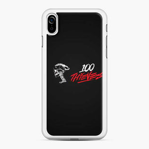 100 Thieves Skull iPhone XR Case