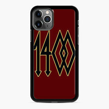 Load image into Gallery viewer, 1400 Trippie Redd Gold iPhone 11 Pro Case