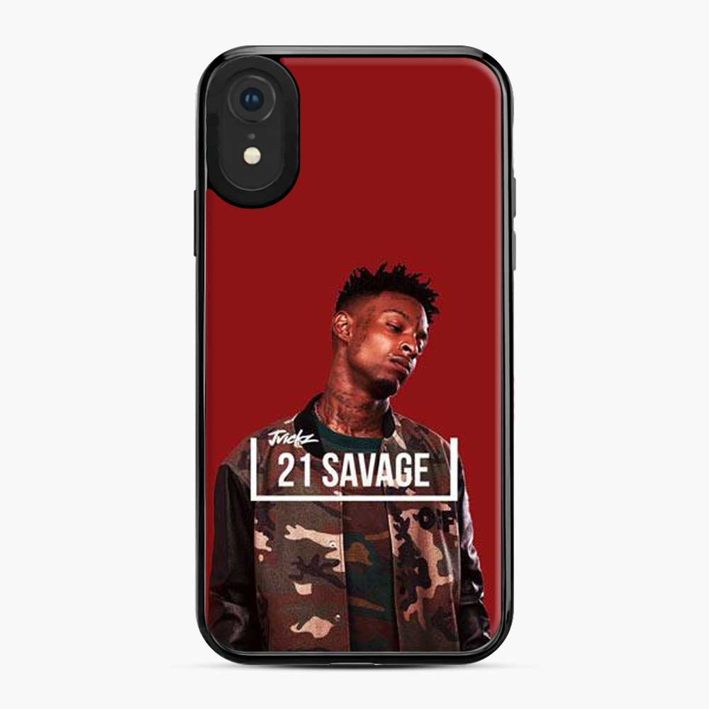 21 Savage Army Jackets iPhone XR Case