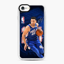 Load image into Gallery viewer, 25 Ben Simmons Philadelphia 76ers iPhone 7/8 Case, White Rubber Case | Webluence.com