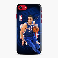 Load image into Gallery viewer, 25 Ben Simmons Philadelphia 76ers iPhone 7/8 Case, Snap Case | Webluence.com