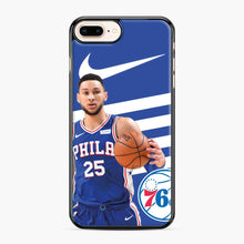 Load image into Gallery viewer, 76ers Philadelphia Bensimmons iPhone 7 Plus/8 Plus Case, Black Plastic Case | Webluence.com