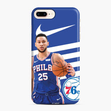 Load image into Gallery viewer, 76ers Philadelphia Bensimmons iPhone 7 Plus/8 Plus Case, Snap Case | Webluence.com