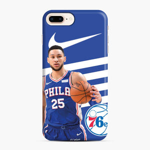 76ers Philadelphia Bensimmons iPhone 7 Plus/8 Plus Case, Snap Case | Webluence.com