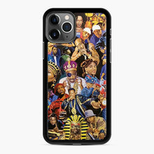 Load image into Gallery viewer, 90's Hip Hop Collage Music Legends iPhone 11 Pro Case