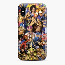 Load image into Gallery viewer, 90's Hip Hop Collage Music Legends iPhone X/XS Case