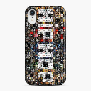 90's Hip Hop Collage Music iPhone XR Case