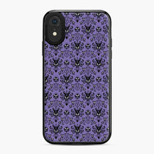 Load image into Gallery viewer, 999 Happy Haunts Pattren Purple Silhouette iPhone XR Case