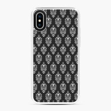 Load image into Gallery viewer, 999 Happy Haunts Skull Death Silhouette iPhone X/XS Case