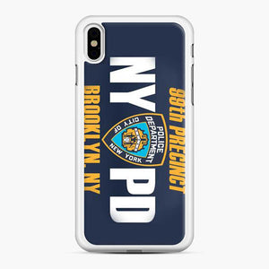 99th Precinct Nypd Brooklyn Ny iPhone X/XS Case