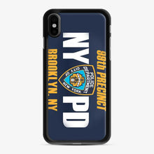 Load image into Gallery viewer, 99th Precinct Nypd Brooklyn Ny iPhone X/XS Case