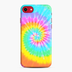 A Bright And Saturated Tie Dye Lock Screen iPhone 7/8 Case, Snap Case | Webluence.com