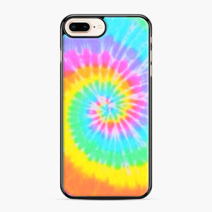 A Bright And Saturated Tie Dye Lock Screen iPhone 7 Plus/8 Plus Case, Black Plastic Case | Webluence.com