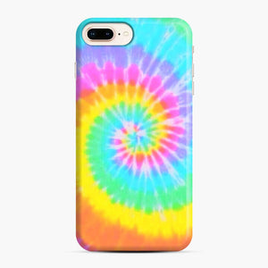 A Bright And Saturated Tie Dye Lock Screen iPhone 7 Plus/8 Plus Case, Snap Case | Webluence.com