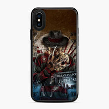 Load image into Gallery viewer, A Nightmare On Elm Street Freddy Krueger Dream Police Date iPhone X/XS Case
