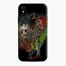 Load image into Gallery viewer, A Nightmare On Elm Street Freddy Krueger Vs Jason iPhone X/XS Case