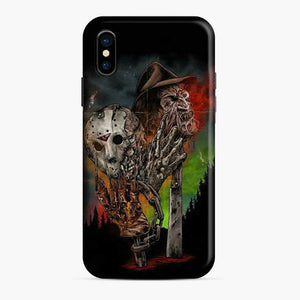 A Nightmare On Elm Street Freddy Krueger Vs Jason iPhone X/XS Case