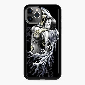 A Skull And A Woman iPhone 11 Pro Case