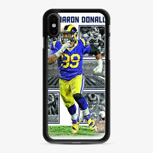 Aaron Donald Los Angeles Rams Collage iPhone X/XS Case