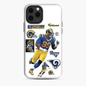 Aaron Donald Los Angeles Rams Jersey iPhone 11 Pro Case