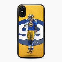 Load image into Gallery viewer, Aaron Donald Los Angeles Rams Nfl Rams iPhone X/XS Case
