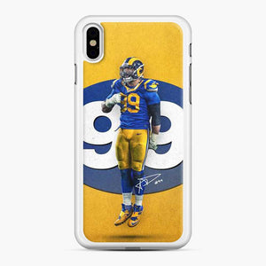 Aaron Donald Los Angeles Rams Nfl Rams iPhone X/XS Case