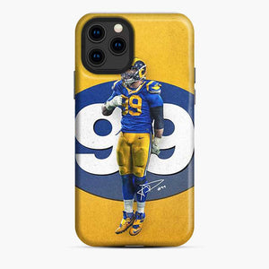 Aaron Donald Los Angeles Rams Nfl Rams iPhone 11 Pro Case