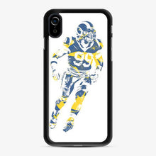 Load image into Gallery viewer, Aaron Donald Los Angeles Rams Sketch Art iPhone XR Case