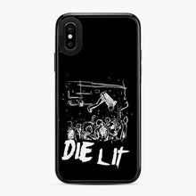 Load image into Gallery viewer, Abstract Die Lit Sketch iPhone X/XS Case