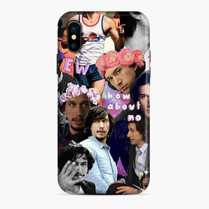 Adam Driver Collage How About No iPhone X/XS Case