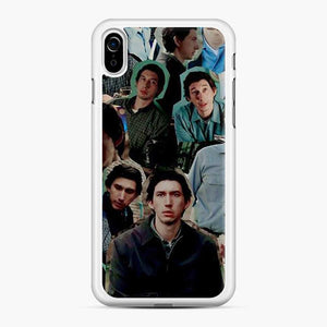 Adam Driver Face Collage iPhone XR Case