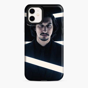 Adam Driver Line Neon White iPhone 11 Case