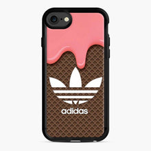 Load image into Gallery viewer, Adidas Camo Logo iPhone 7/8 Case, Black Rubber Case | Webluence.com
