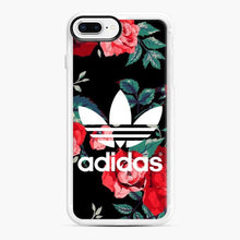 Load image into Gallery viewer, Adidas Floral wallpaper iPhone 7 Plus/8 Plus Case, White Rubber Case | Webluence.com
