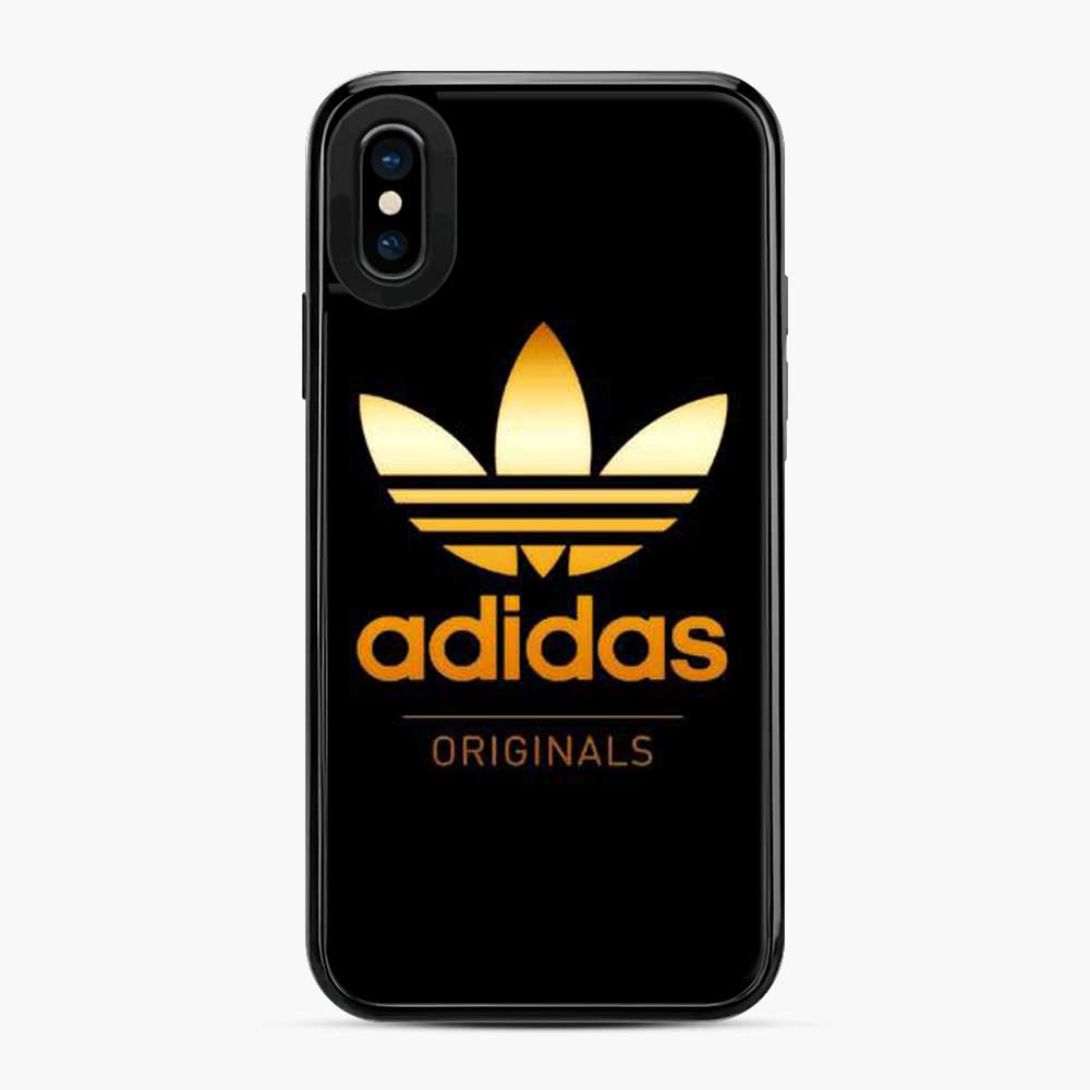Adidas Gold Black Gold Original Logo iPhone X/XS Case