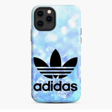Load image into Gallery viewer, Adidas Logo Blue Diamond iPhone 11 Pro Case