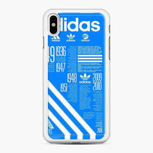 Load image into Gallery viewer, Adidas Logo Blue Stripes iPhone X/XS Case
