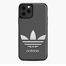 Load image into Gallery viewer, Adidas Logo Carbon iPhone 11 Pro Case