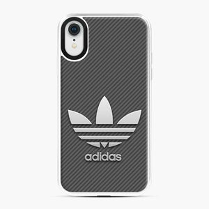 Adidas Logo Carbon iPhone XR Case