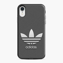 Load image into Gallery viewer, Adidas Logo Carbon iPhone XR Case