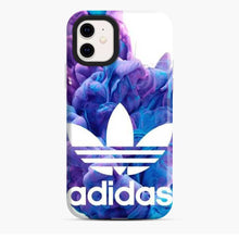 Load image into Gallery viewer, Adidas Logo Deep Blue Clouds iPhone 11 Case