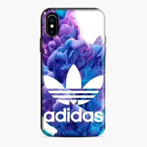 Adidas Logo Deep Blue Clouds iPhone X/XS Case