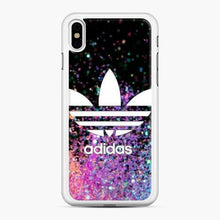 Load image into Gallery viewer, Adidas Logo Glitter iPhone X/XS Case