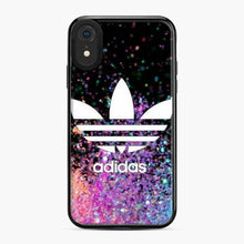 Load image into Gallery viewer, Adidas Logo Glitter iPhone XR Case