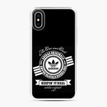 Load image into Gallery viewer, Adidas Logo Keep In It Real iPhone X/XS Case