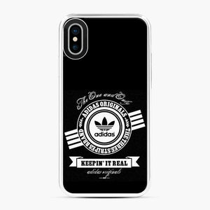 Adidas Logo Keep In It Real iPhone X/XS Case