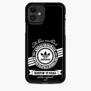 Adidas Logo Keep In It Real iPhone 11 Case