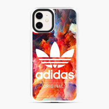 Load image into Gallery viewer, Adidas Logo Rainbow Cloud iPhone 11 Case